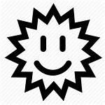 Icon Sun Happy Icons Text Colourbox Smiling