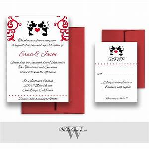 mickey and minnie wedding invitations disney weddings With sending wedding invitations to disney