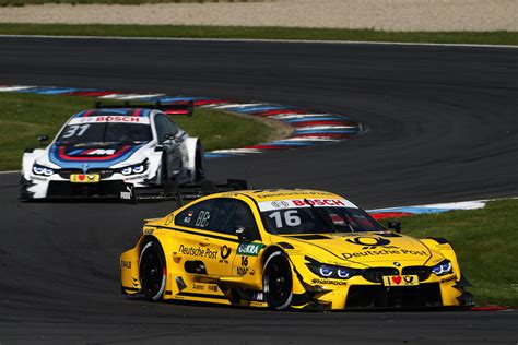 Martin And Wittmann In The Points For Bmw Dtm