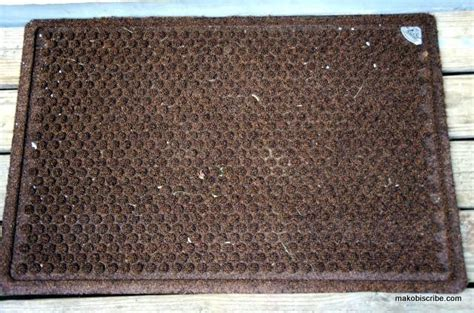 what is the best doormat for trapping dirt makobi scribe