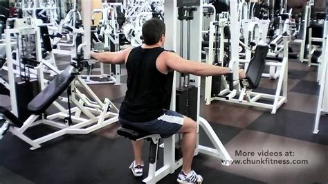 Pec Deck Exercise by Rear Deltoid Laterals On Pec Deck