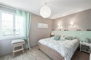 Chambre Parentale Cosy : chambre parentale cosy maison surmesure mtre carr agen ~ Melissatoandfro.com Idées de Décoration