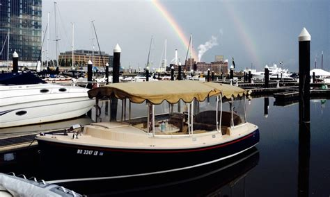 Duffy Boats Deal by Kolr Baltimore Electric Duffy Boat Rental In Baltimore Md