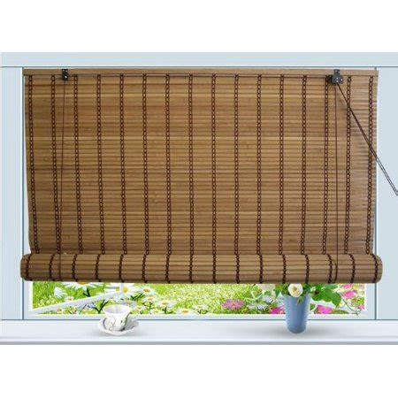 walmart bamboo blinds bamboo roll up window blind sun shade w30 quot x h72
