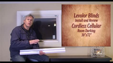 levolor blinds easy install  review youtube
