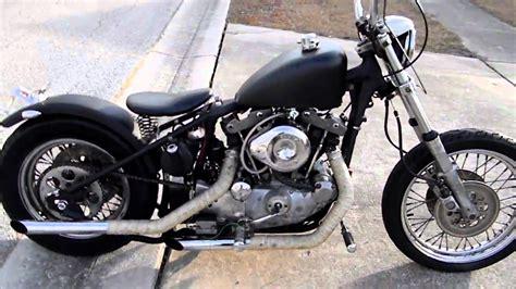 1980 Ironhead Bobber Chupacabra Customs!!