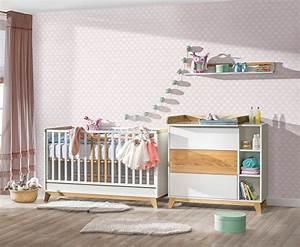 Chambre Bebe Evolutive Complete : atb nordik 4 meubles lit 140x70 commode armoire 2 portes tag re murale baby ~ Teatrodelosmanantiales.com Idées de Décoration