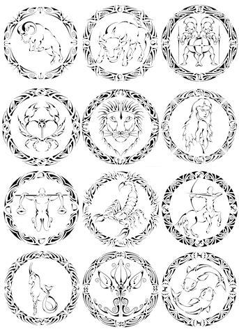 Capricorn Zodiac Coloring Pages Shefalitayal