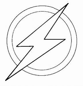 The flash logo of Barry Allen | Birthday Cake Helps ...