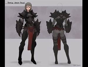 Female Armor Design by jzhaw on DeviantArt
