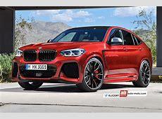 Futur BMW X4 M 2019 arme d'accélération massive