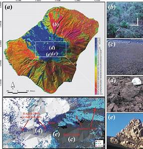 A  Intensity Map Of The Stromboli Volcano  The Inset