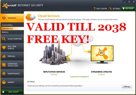 Free Avast Antivirus License Serial Key Till 2038