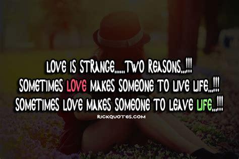 love quotes love  strange