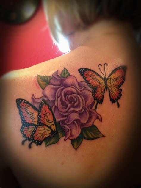 flower  butterfly tattoo wwwfacebookcom