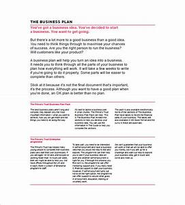 small business plan template the template the outline of With small business victoria business plan template