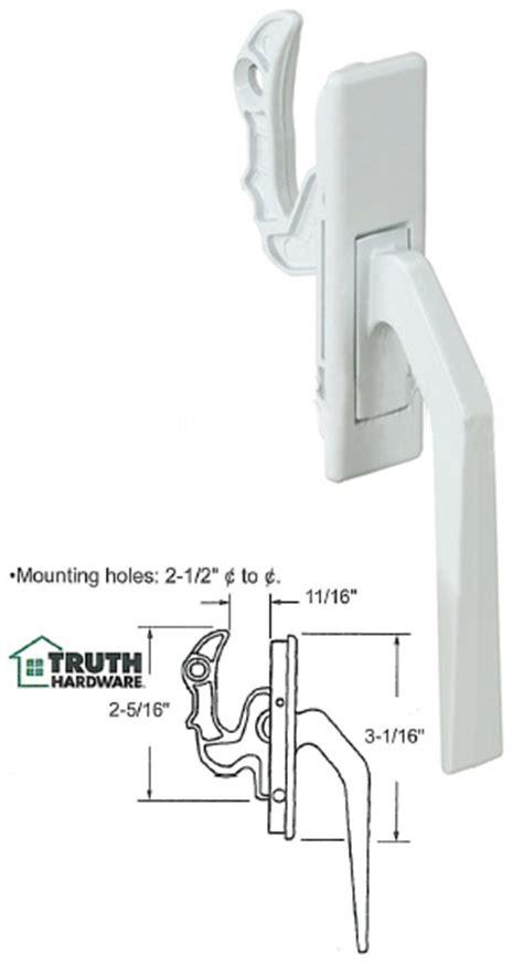 truth hardware casement window locking handle truth hardware
