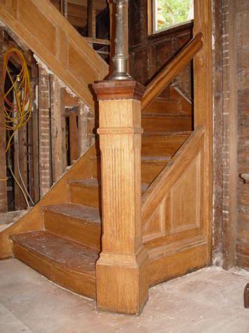 historic victorian staircase restoration  preservation