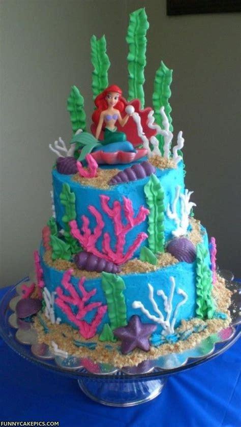 HD wallpapers birthday cake ideas mermaid
