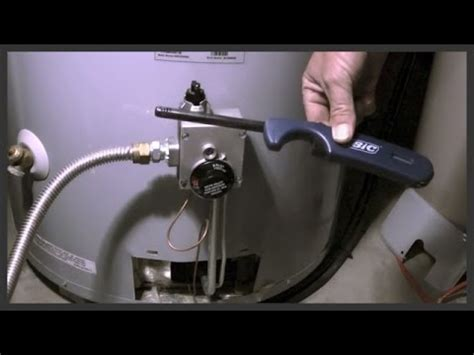 gas water heater pilot light how to relight a water heater pilot light