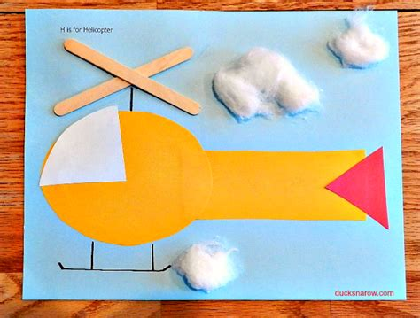 h is for helicopter preschool craft ducks n a row 683 | HisforHelicopter3