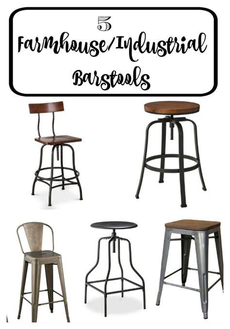 bar stool industrial 5 target farmhouse industrial stools timeless creations llc