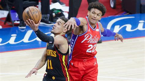 You saw the fight and grit of a whole group, said tobias harris, who also had 24 points. Hawks vs 76ers Hawks vs 76ers score takeaways Trae Young ...