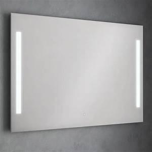 Miroir lumineux salle de bain 120 a 150cm idled for Miroir anti buée 120