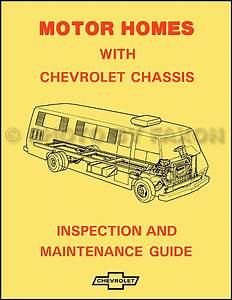 1974 Chevy Motor Home Chassis Inspection And Maintenance