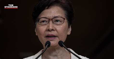 ผู้นำฮ่องกงชี้ การใช้ความรุนแรงไม่ช่วยแก้ปัญหาสังคม เตือน ...