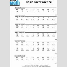 Excel Math Fiveminute Math Class Warmup Activities