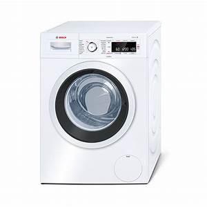 Verbindung Waschmaschine Trockner : bosch waw28500 wei waschvollautomat a 8kg 1400u min bei ~ Orissabook.com Haus und Dekorationen