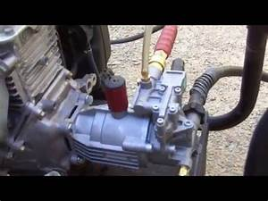 Replace Excell 2500 Pressure Washer Pump