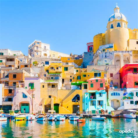 Welcome To Procida Colorful Island In The Mediterranean