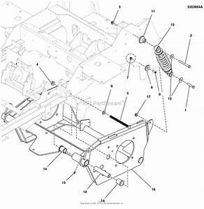 Simplicity 5901338   61 U0026quot  Mower Deck  U0026 R O P S  Parts Diagram