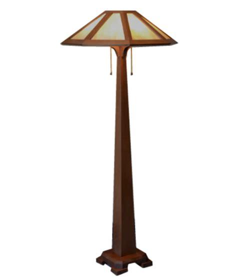 Mission Craftsman Floor Lamp  Saugatuck  Rustic Artistry
