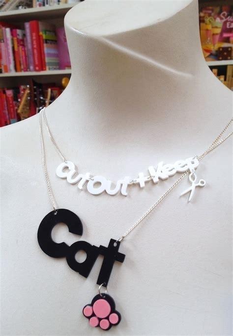 cricut  necklace     shrink plastic