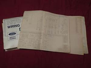 1970 Ford Bronco Econoline Club Wagon Wiring Diagrams Manual Sheets