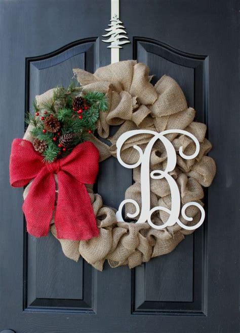 rustic love  burlap christmas decor ideas digsdigs