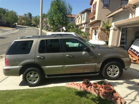 Purchase used 2002 Mercury Mountaineer like Ford Explorer