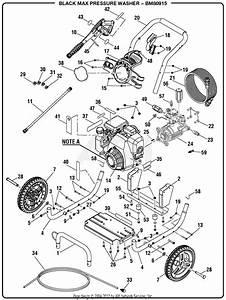 Homelite Bm80915 3000 Psi Pressure Washer Parts Diagram