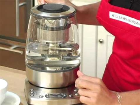 Breville One-Touch Tea Maker - YouTube