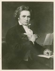 Ludwig van Beethoven - the great German-born composer ...