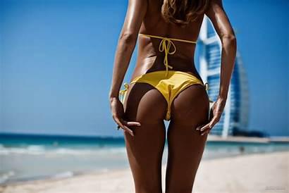 Bikini Gap Thigh Ass Tanning Swimwear Sun