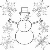 Snowflake Coloring Pages Printable sketch template