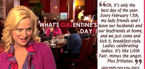 Amy Poehler... Galentine's Day... | Galentines, Happy ...