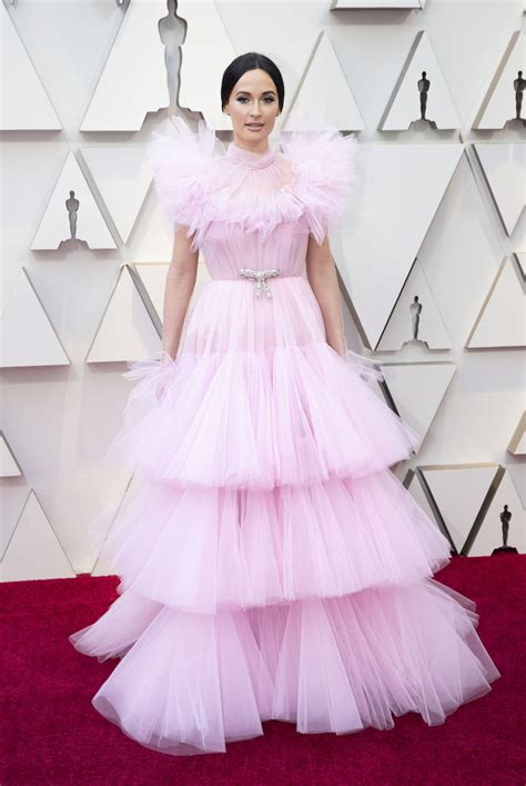 oscars red carpet fashion trend  hot pink gowns