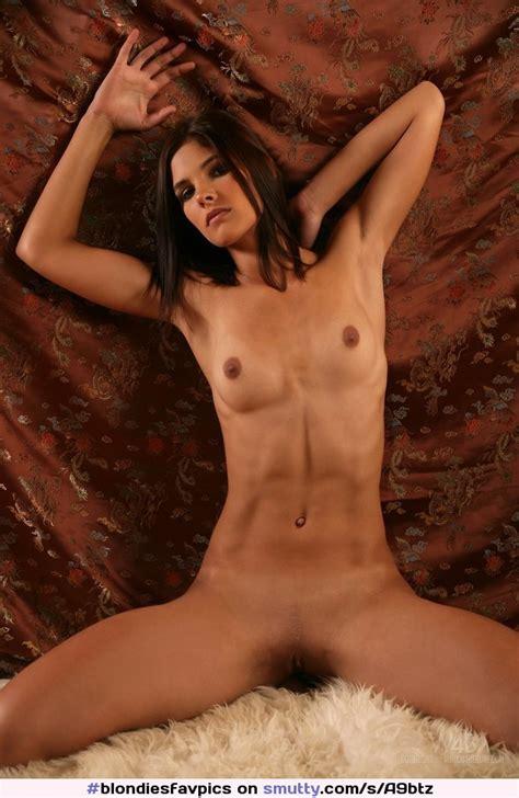 Beautiful Sexy Gorgeous Naked Brunette Smalltits
