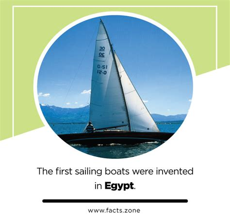 When Was The Boat Invented by Facts Zone The Sailing Boats Were Invented In