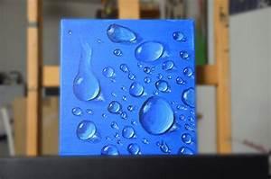 comment peindre une goutte deau peinture pour tous With comment peindre l eau